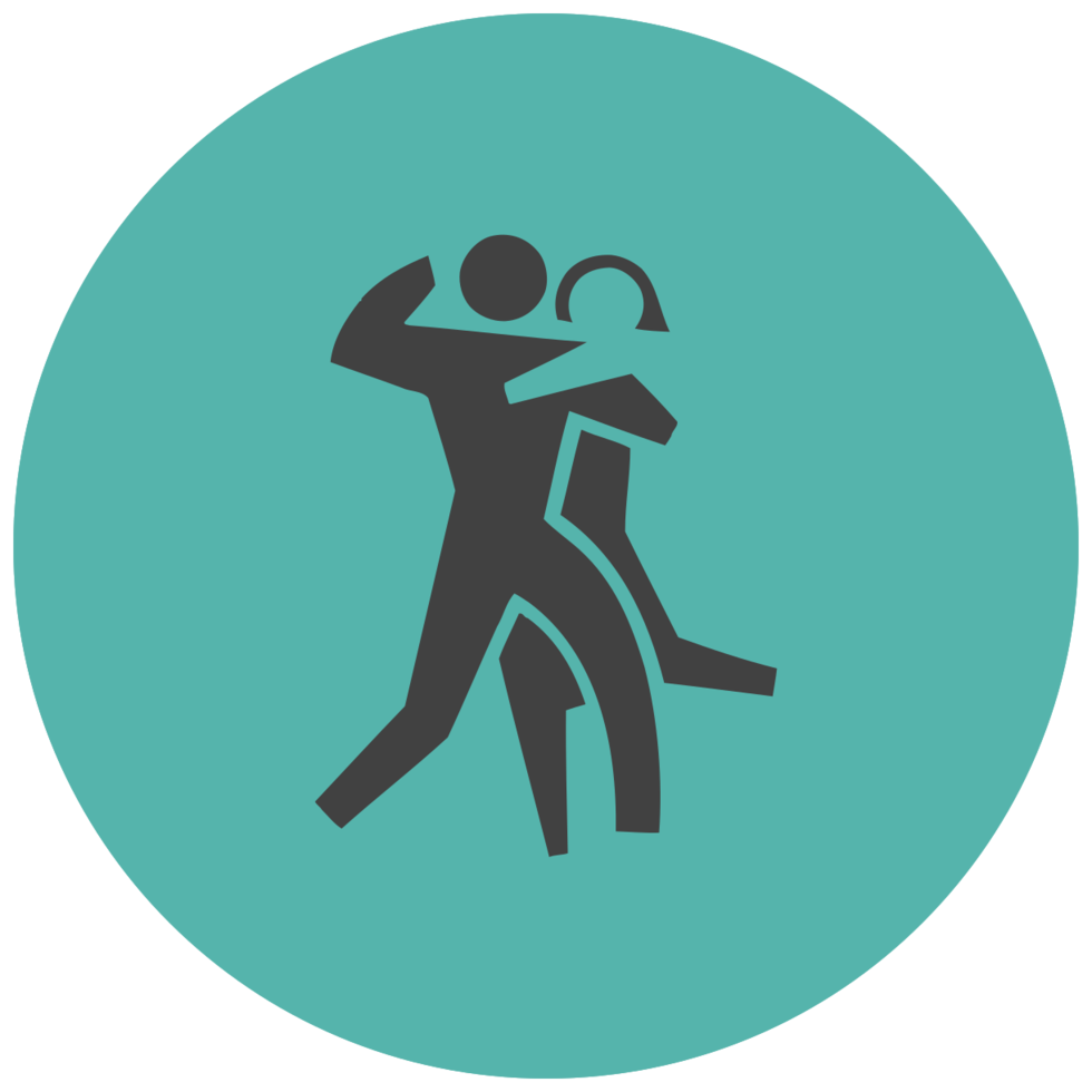 muziek platte pictogram dans png
