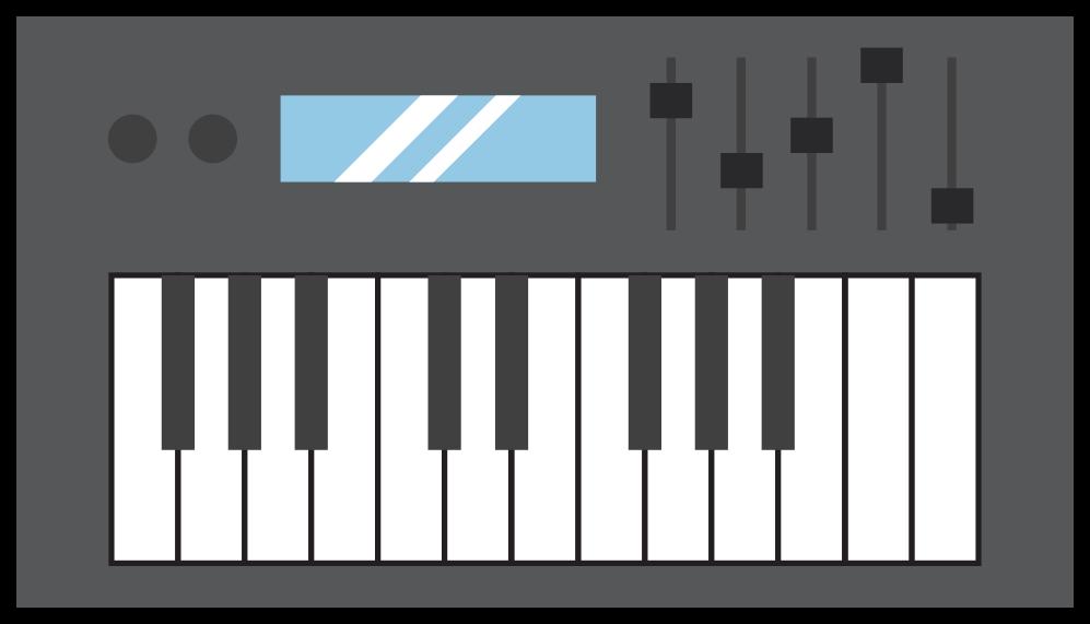 muziekinstrument midi piano png