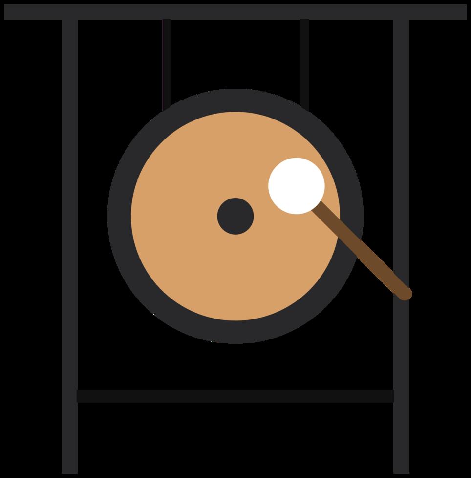 muziekinstrument gong png
