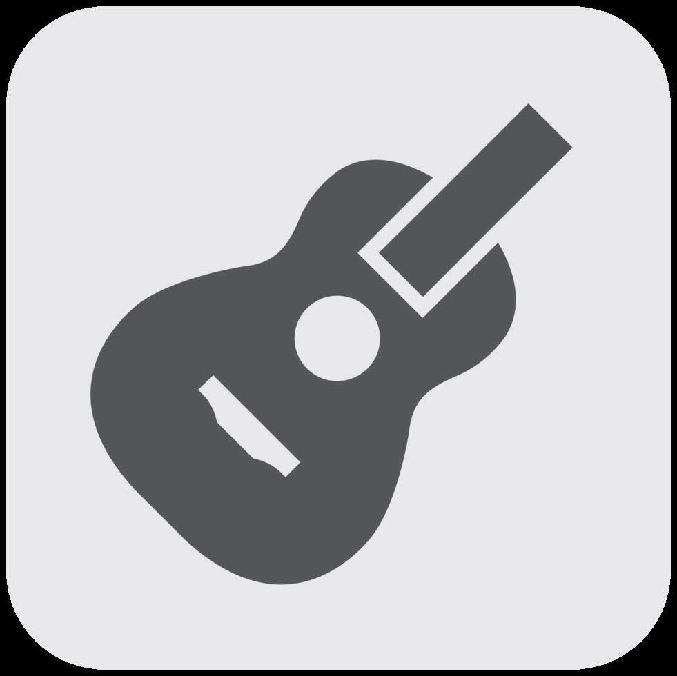 ícone de instrumento musical png