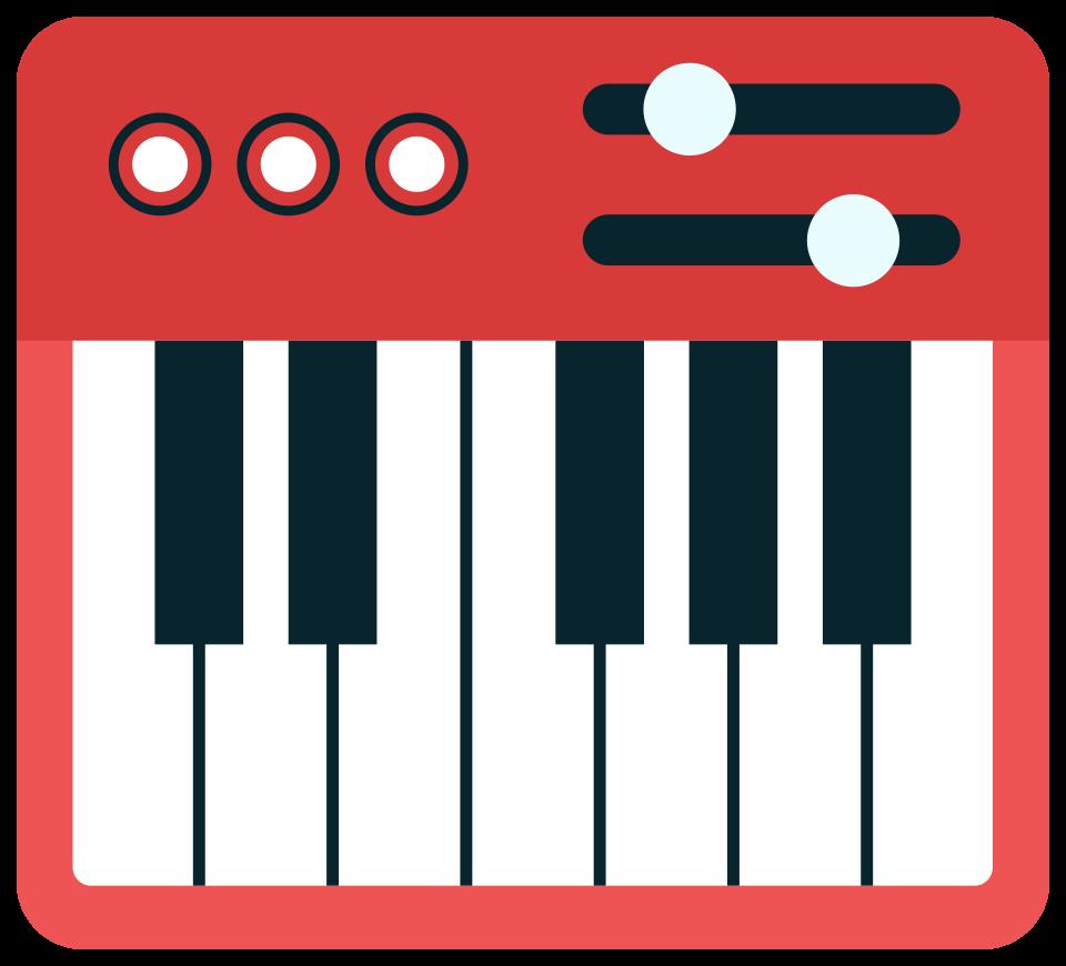 muziek midi piano png