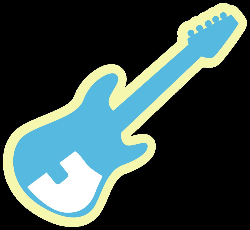 Musikikone Gitarre png
