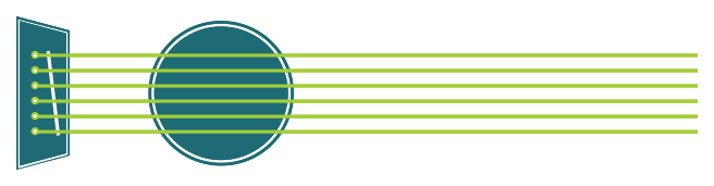 Musikinstrument einfache Gitarre png
