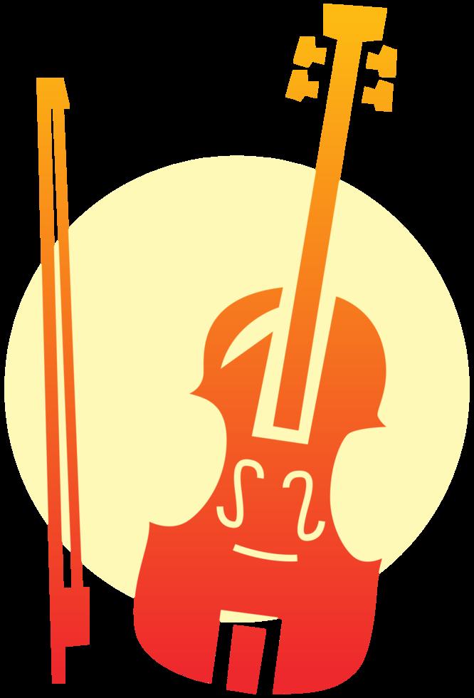 muziekinstrument viool png