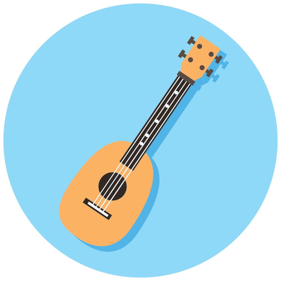 Musikinstrument Icon Gitarre png
