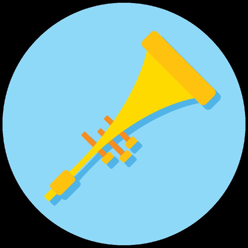 Musikinstrument Ikone Trumphet png
