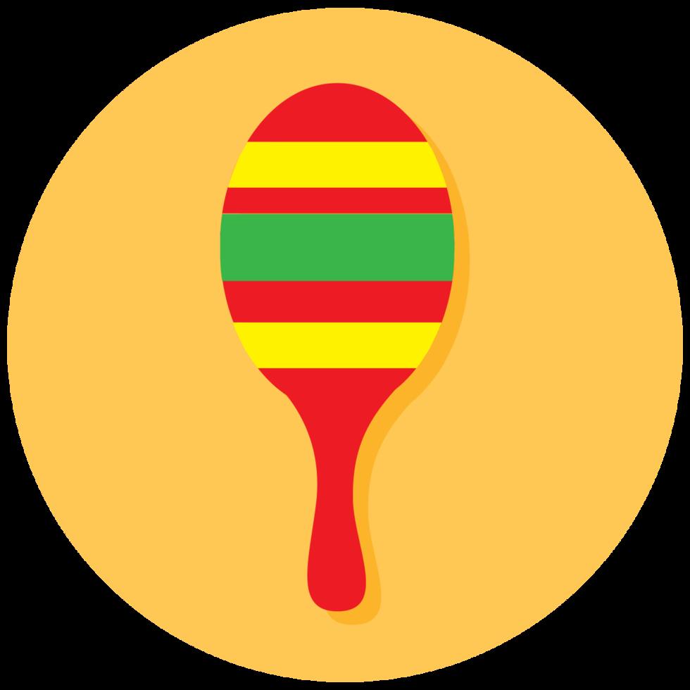 icône d'instrument de musique maraca png