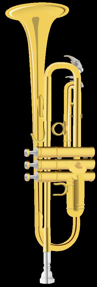 muziekinstrument trompet png