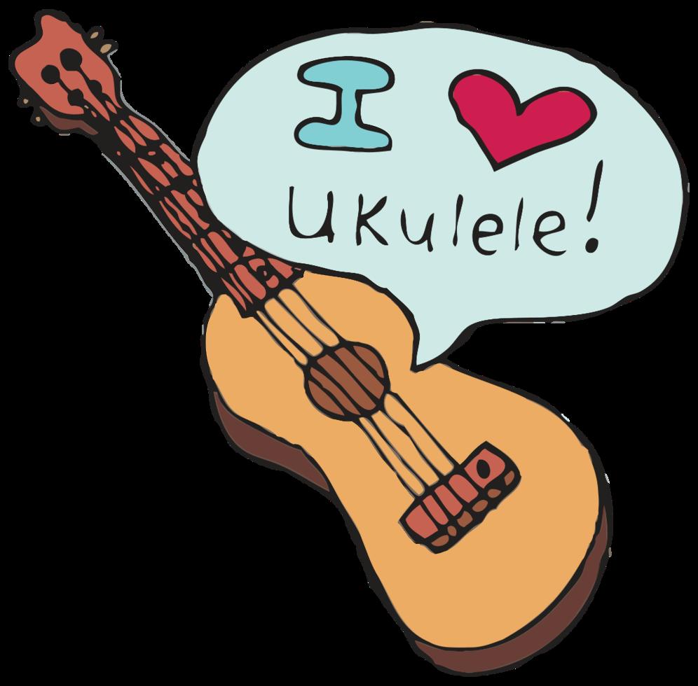 hawaiianische Ukulele png