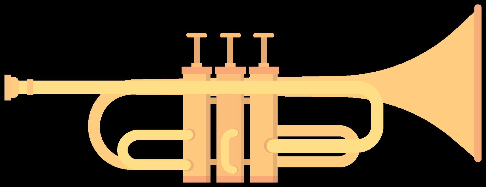 vindmusikinstrument trumfet png