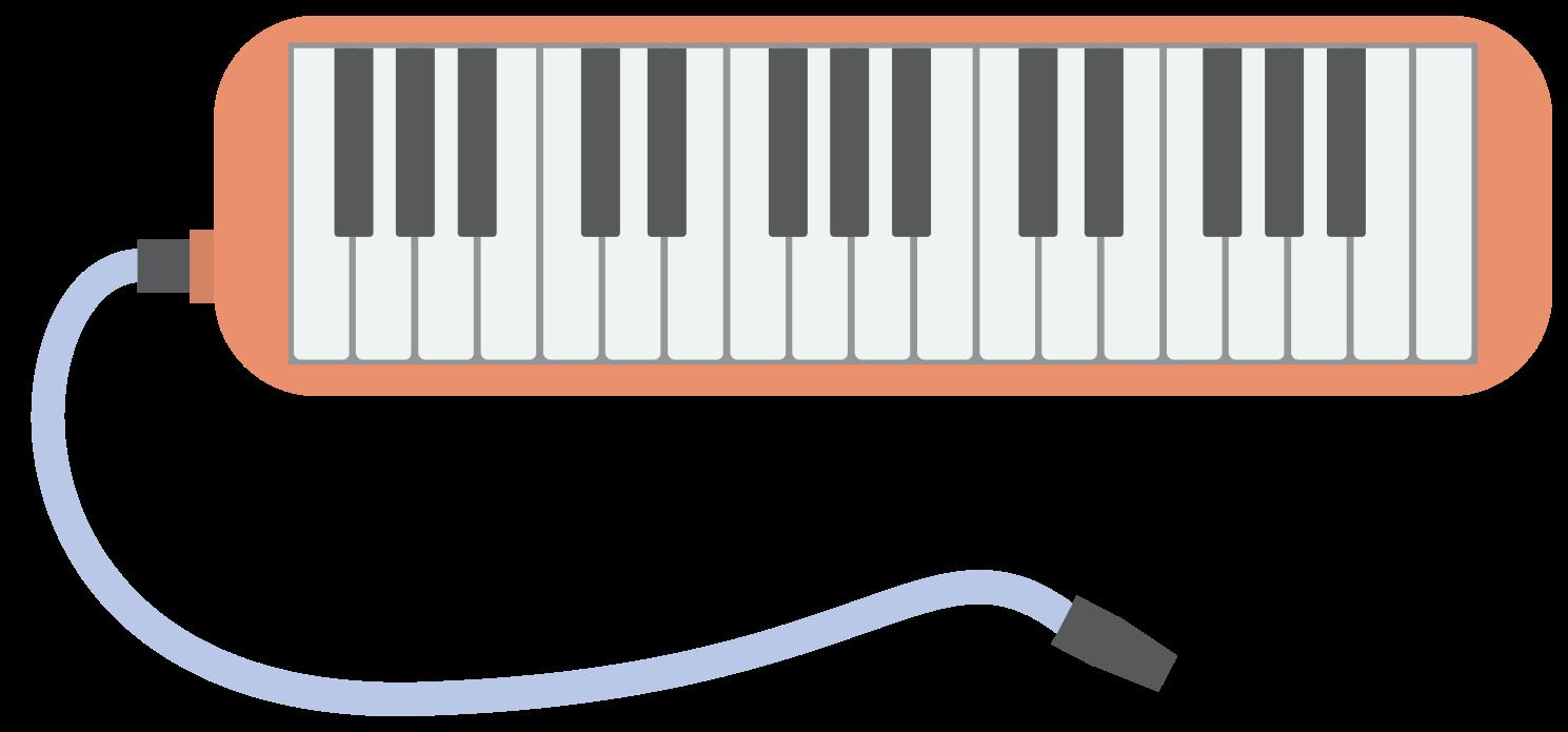 blaasmuziek instrument melodica png