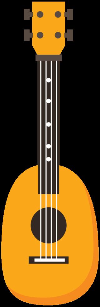 Colorful ukulele png