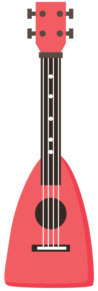 ukulele colorate png