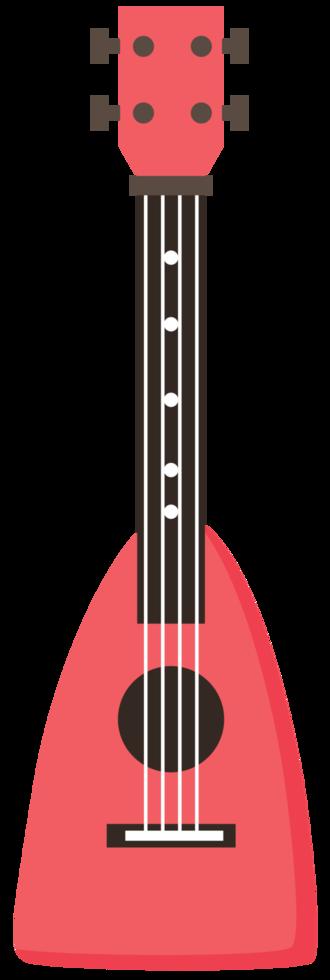 ukulele colorido png