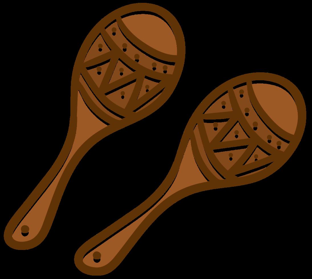 strumento mararia maracas png