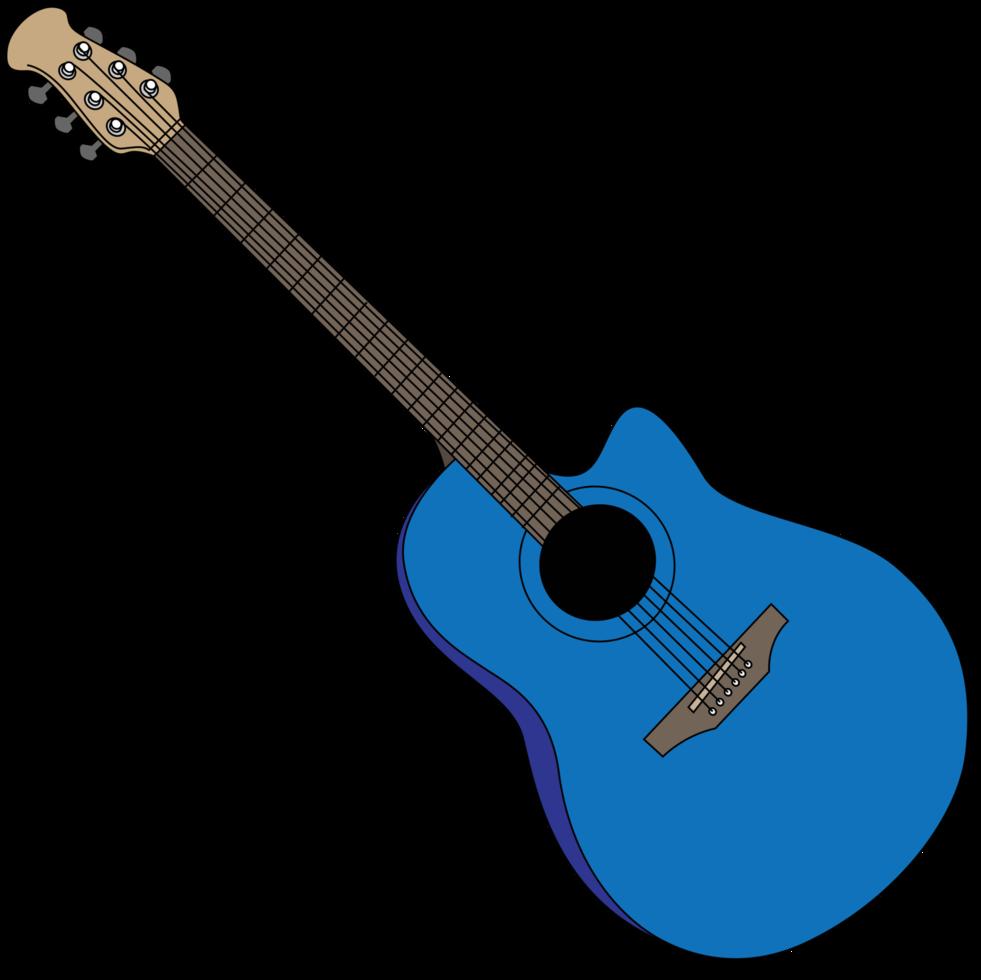 akustische Gitarre png