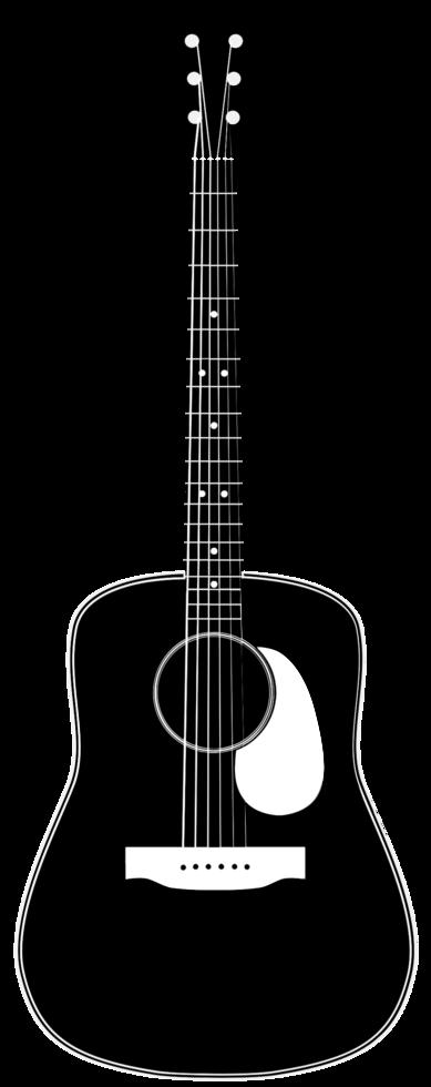 chitarra acustica png