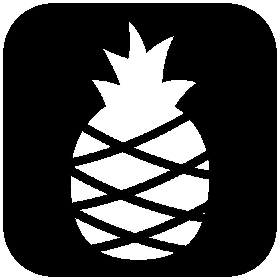 icono de rectángulo de piña png
