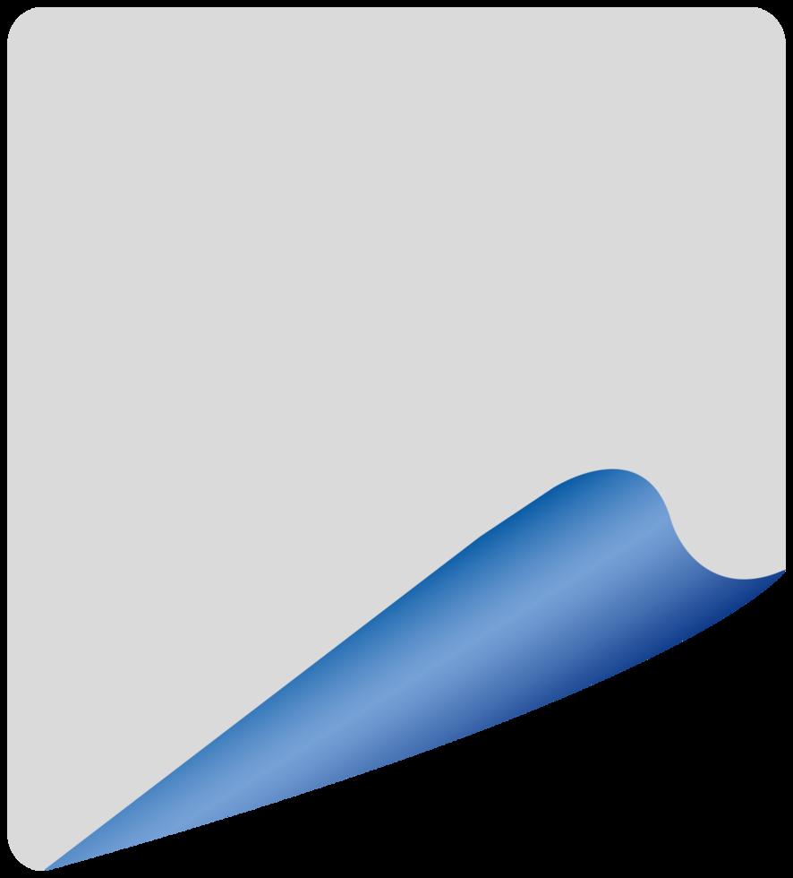 papel retangular png