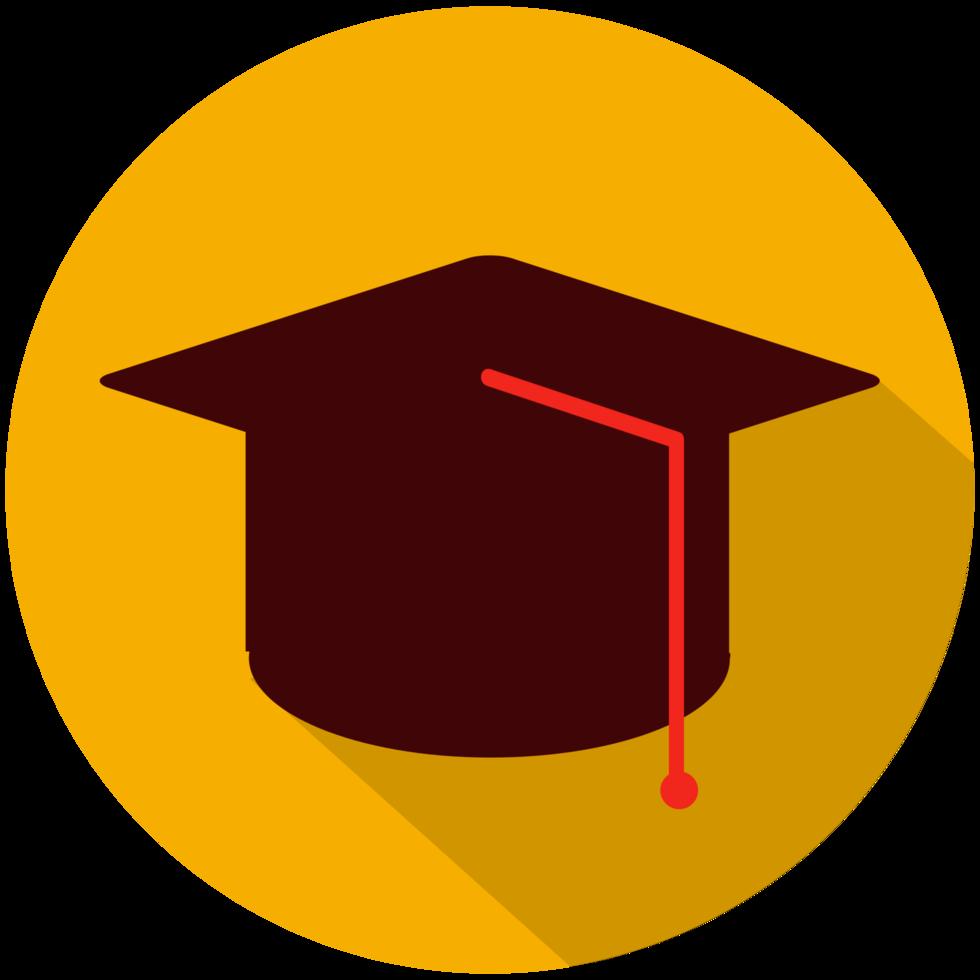 chapéu de graduação png