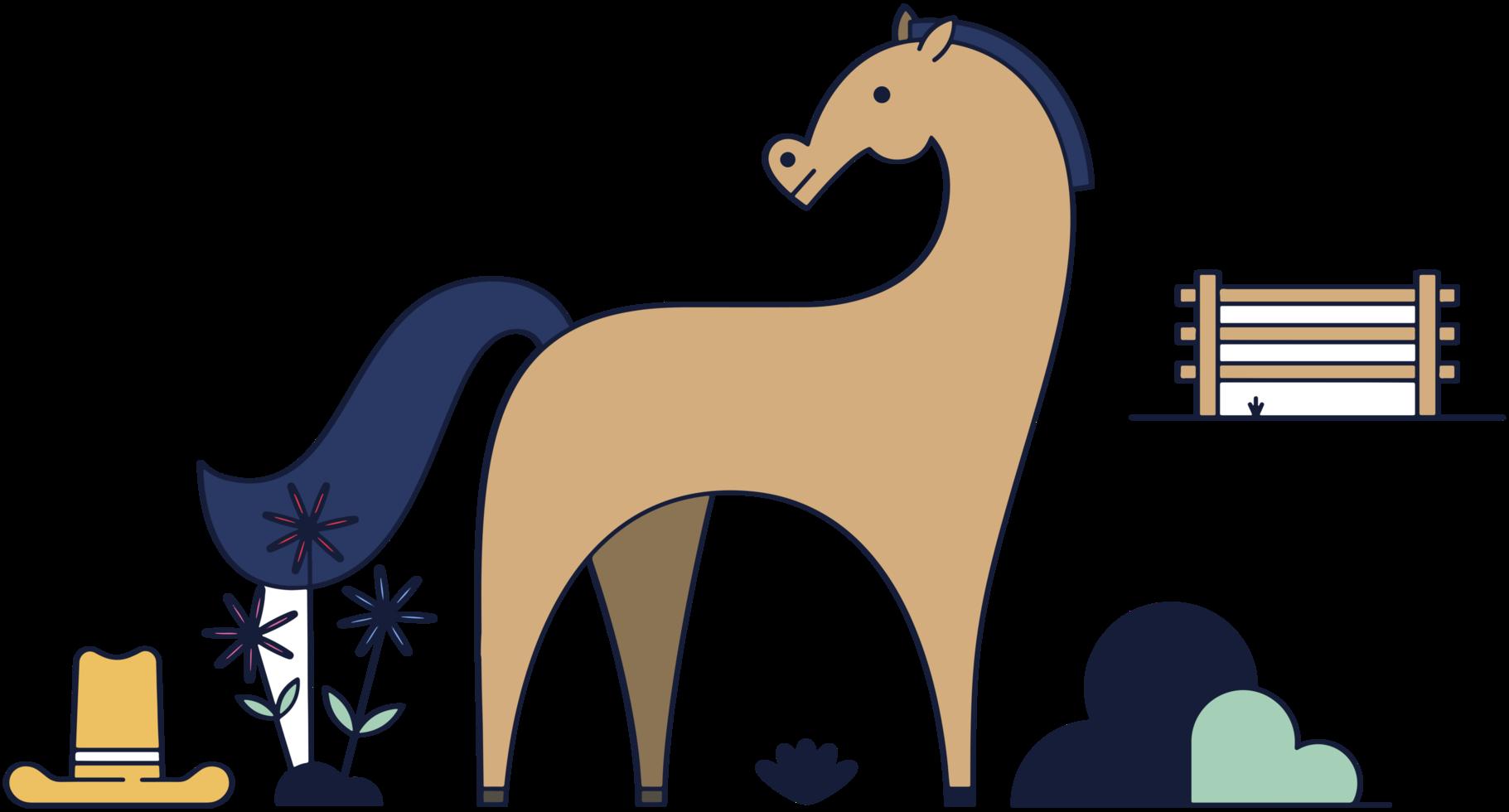 häst png
