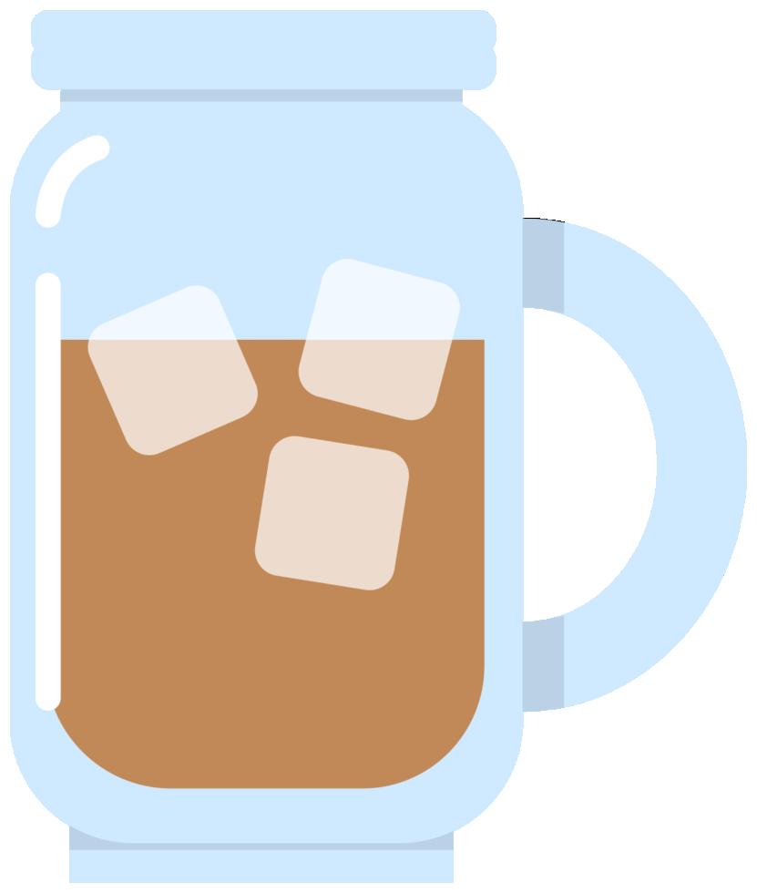 caffè ghiacciato png