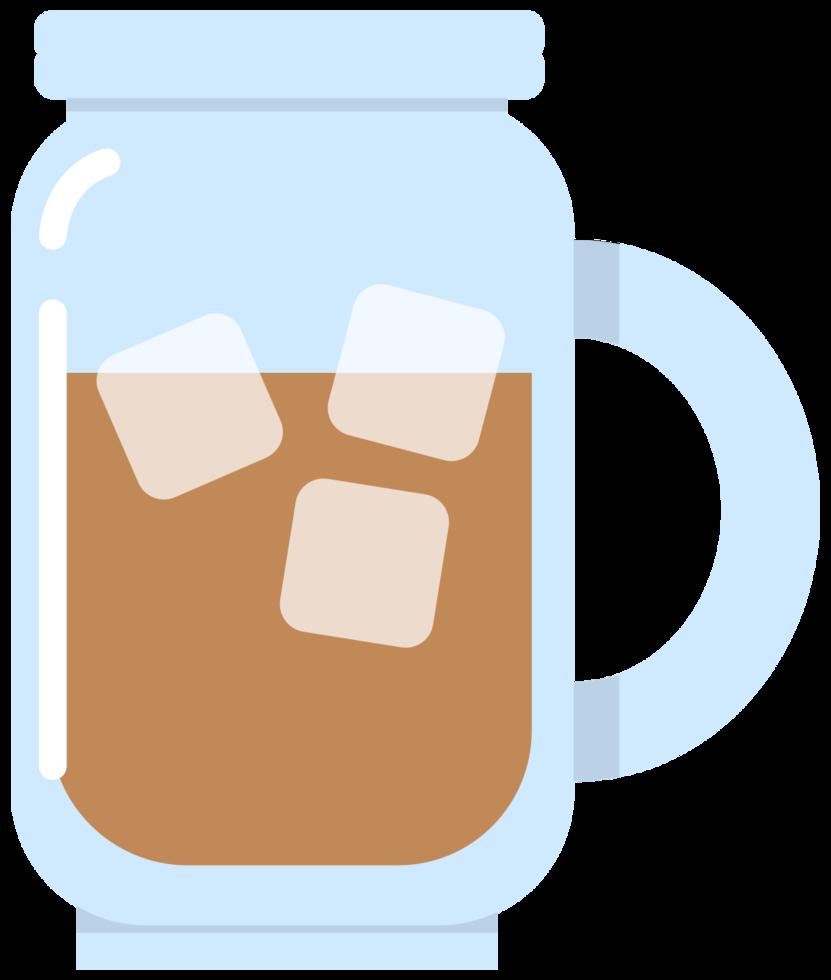 café glacé png