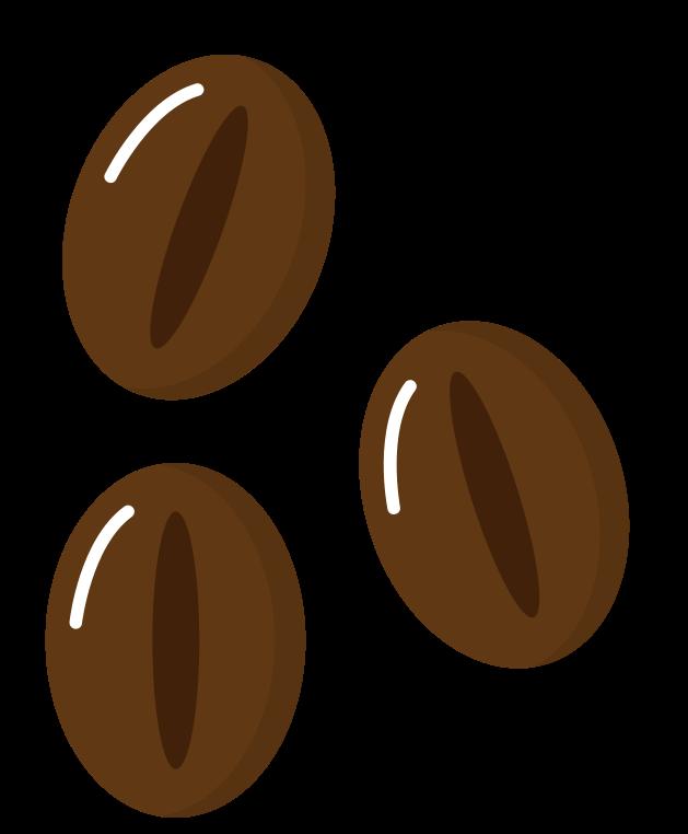 grãos de café png
