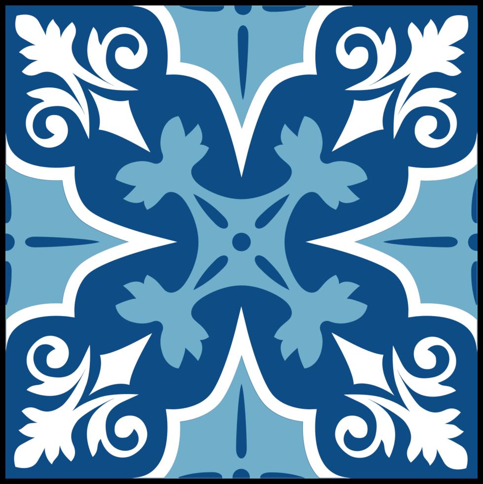 Decoration morocco tile png
