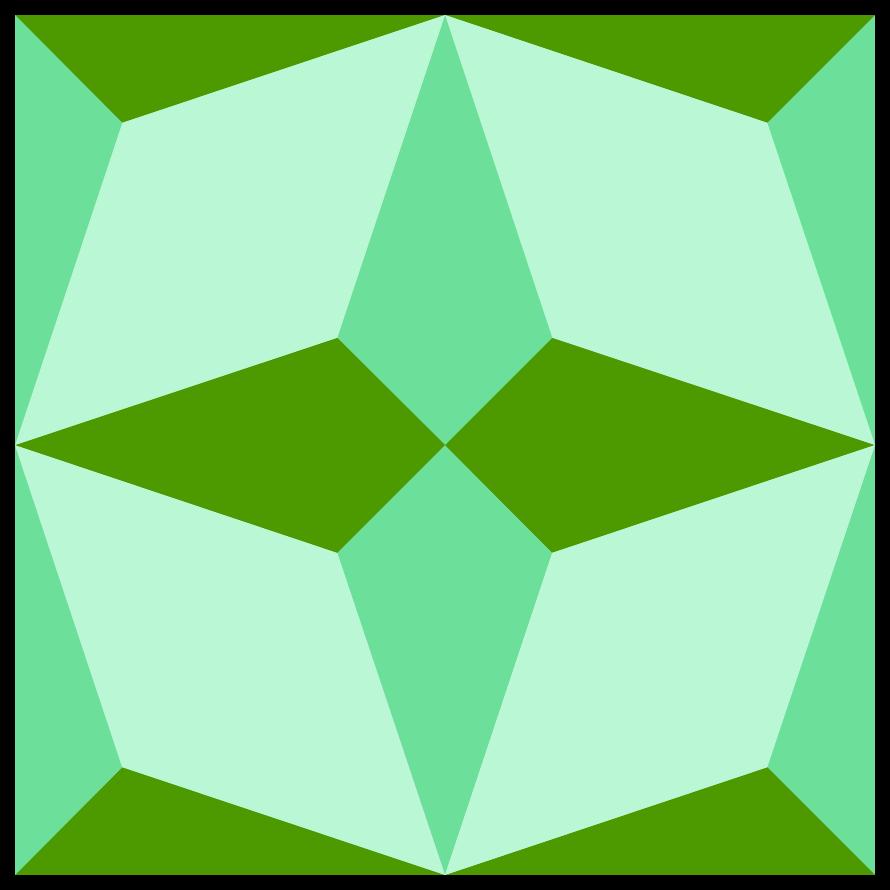 patrón de mosaico geométrico png