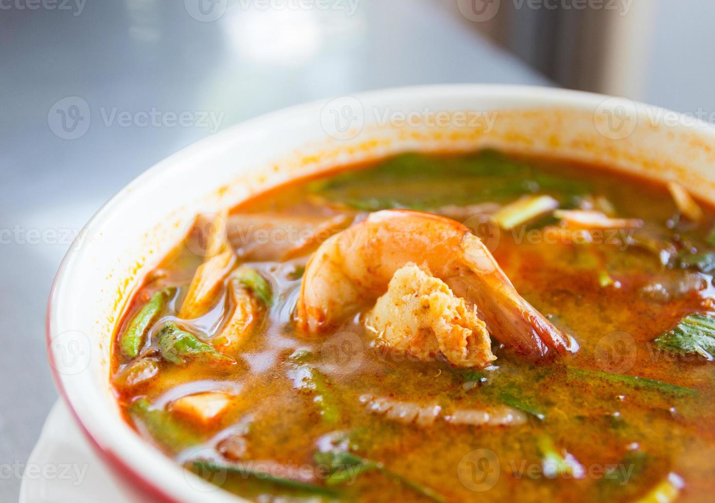 tom yum koong foto