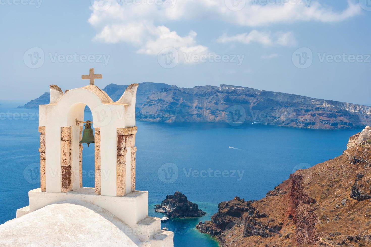 Santorini island, Greece photo