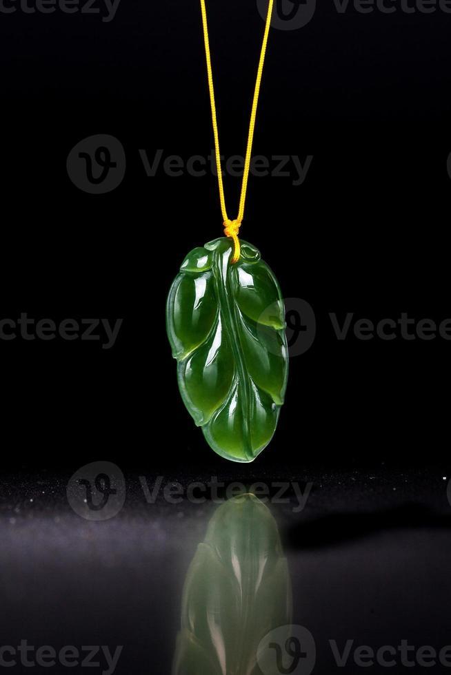 Jade necklace photo