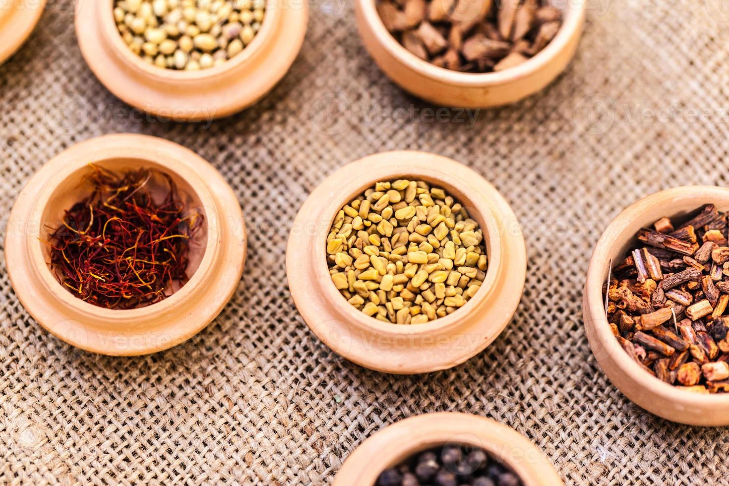 Different spices photo