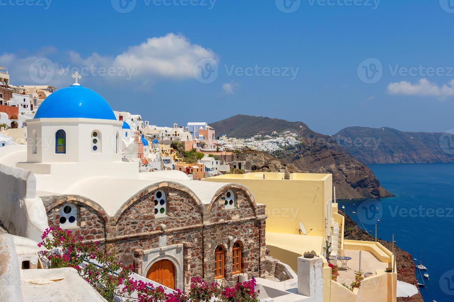isla de santorini Grecia foto