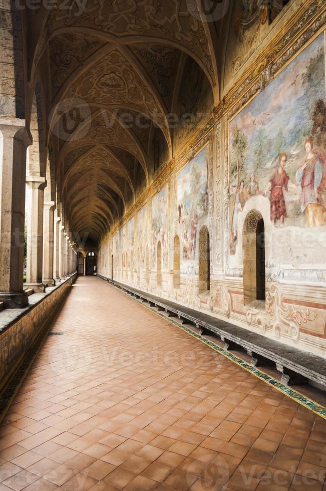 St Chiara Cloister photo