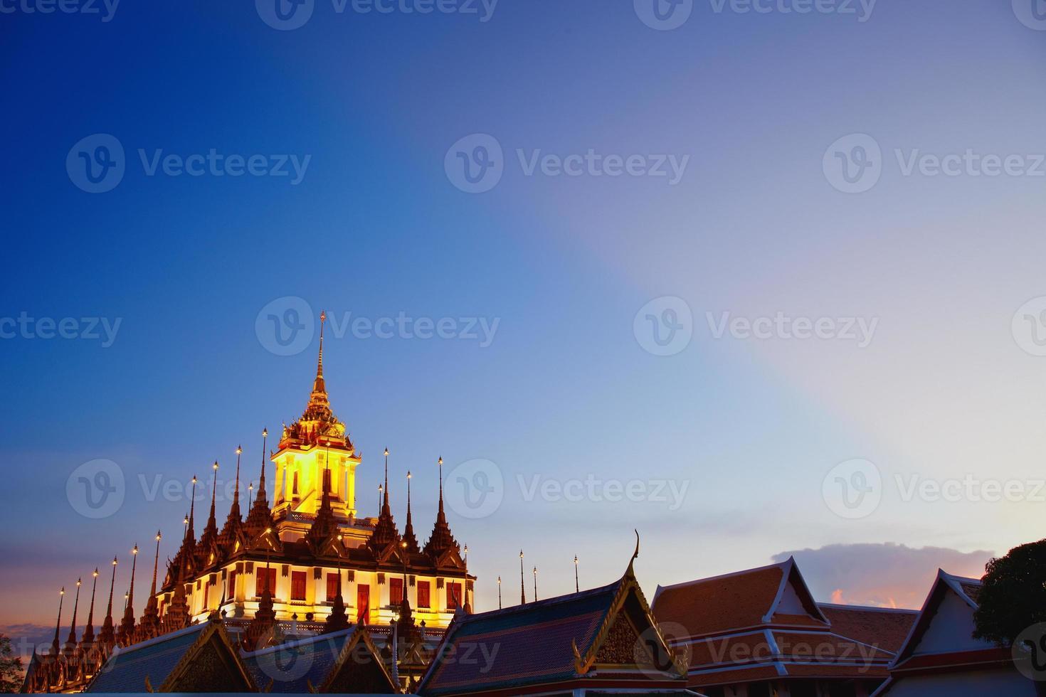 Wat Ratcha Natdaram Worawihan under sky photo