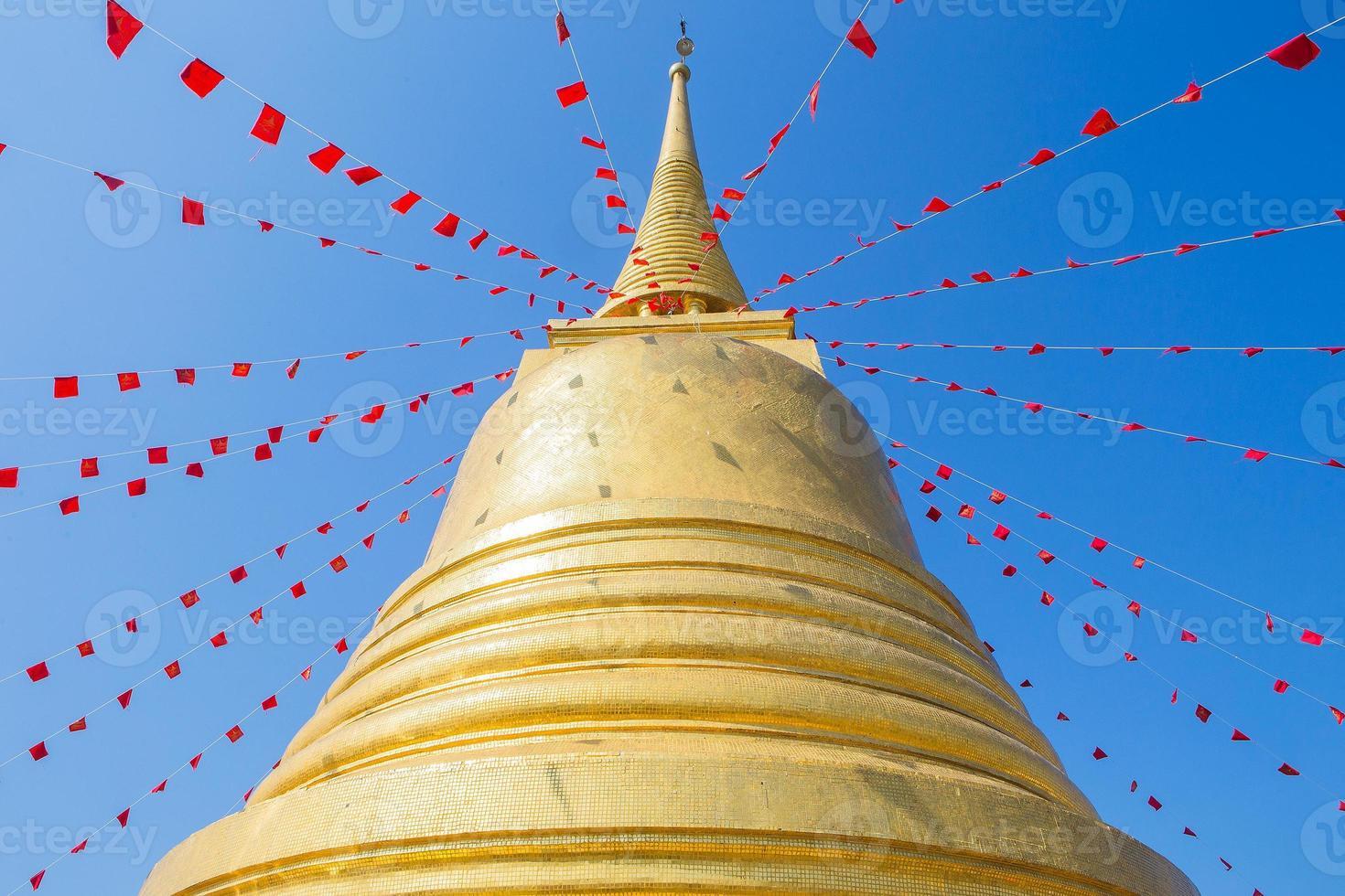 Golden mountain (phu khao thong) photo