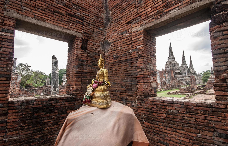 Wat Phra Srisanphet en Ayutthaya, Tailandia. foto