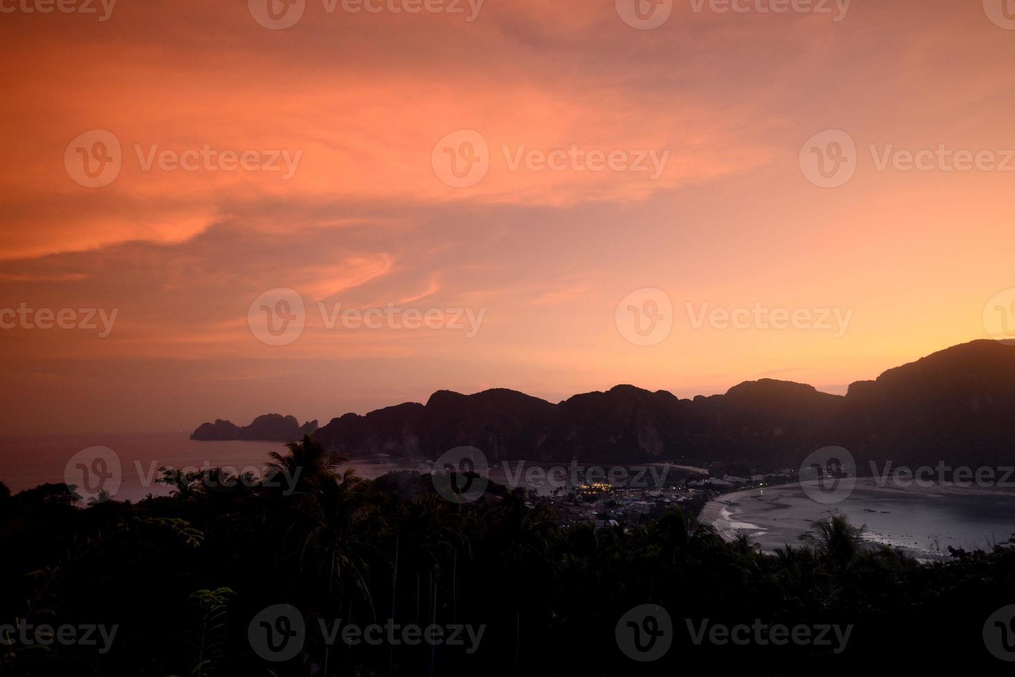 Tailandia krabi islas phi phi foto