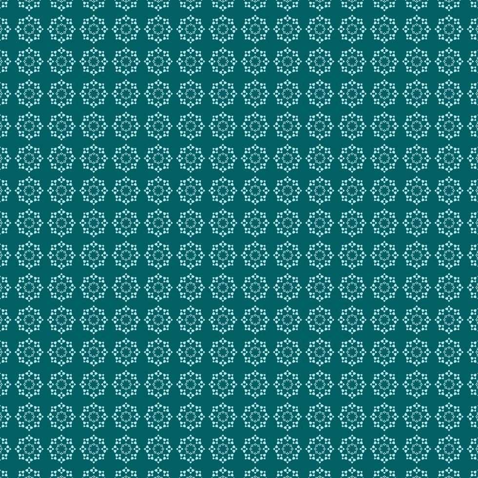 plantilla de diseño de patrón cian verde vector