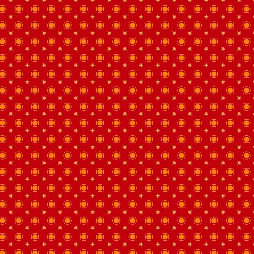 patrón rojo y naranja vector