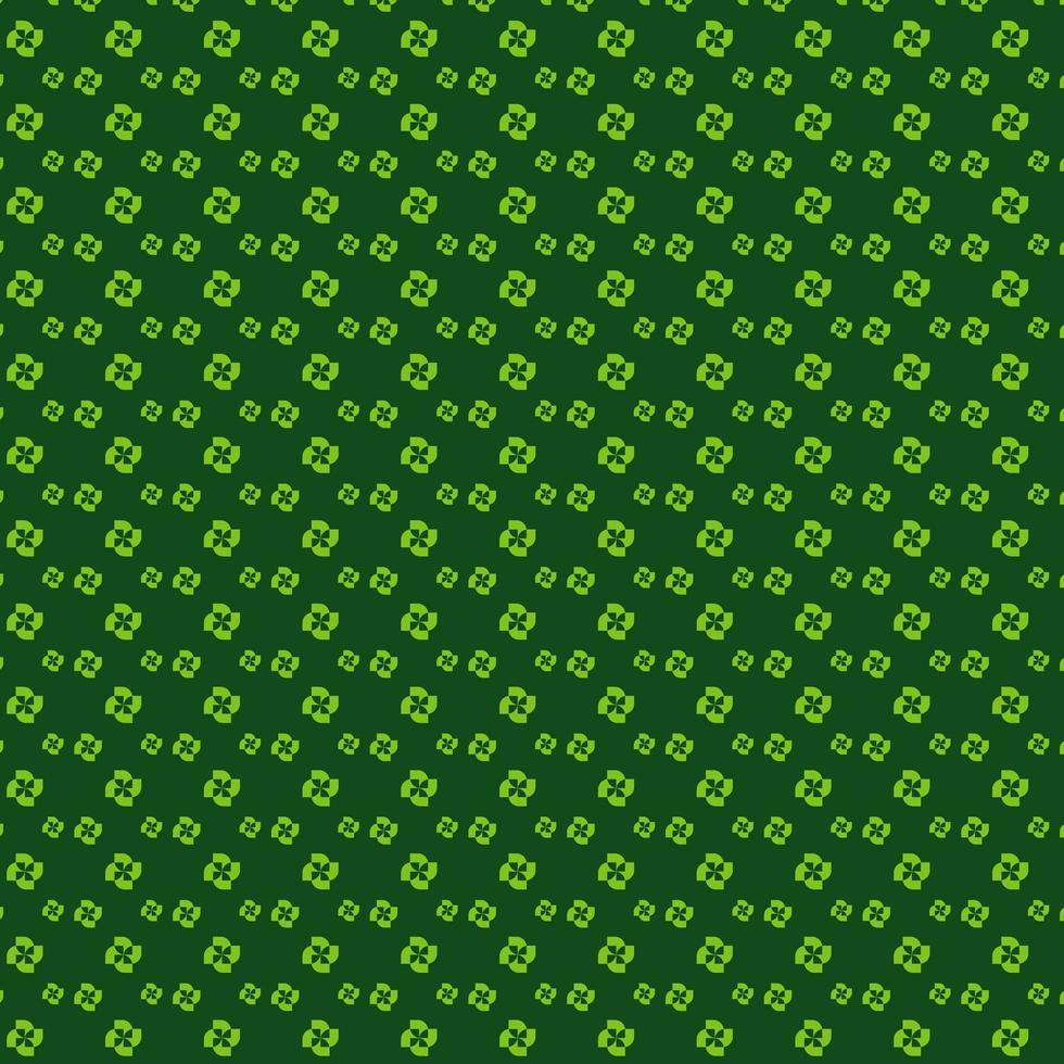 patrón de círculo verde lima vector