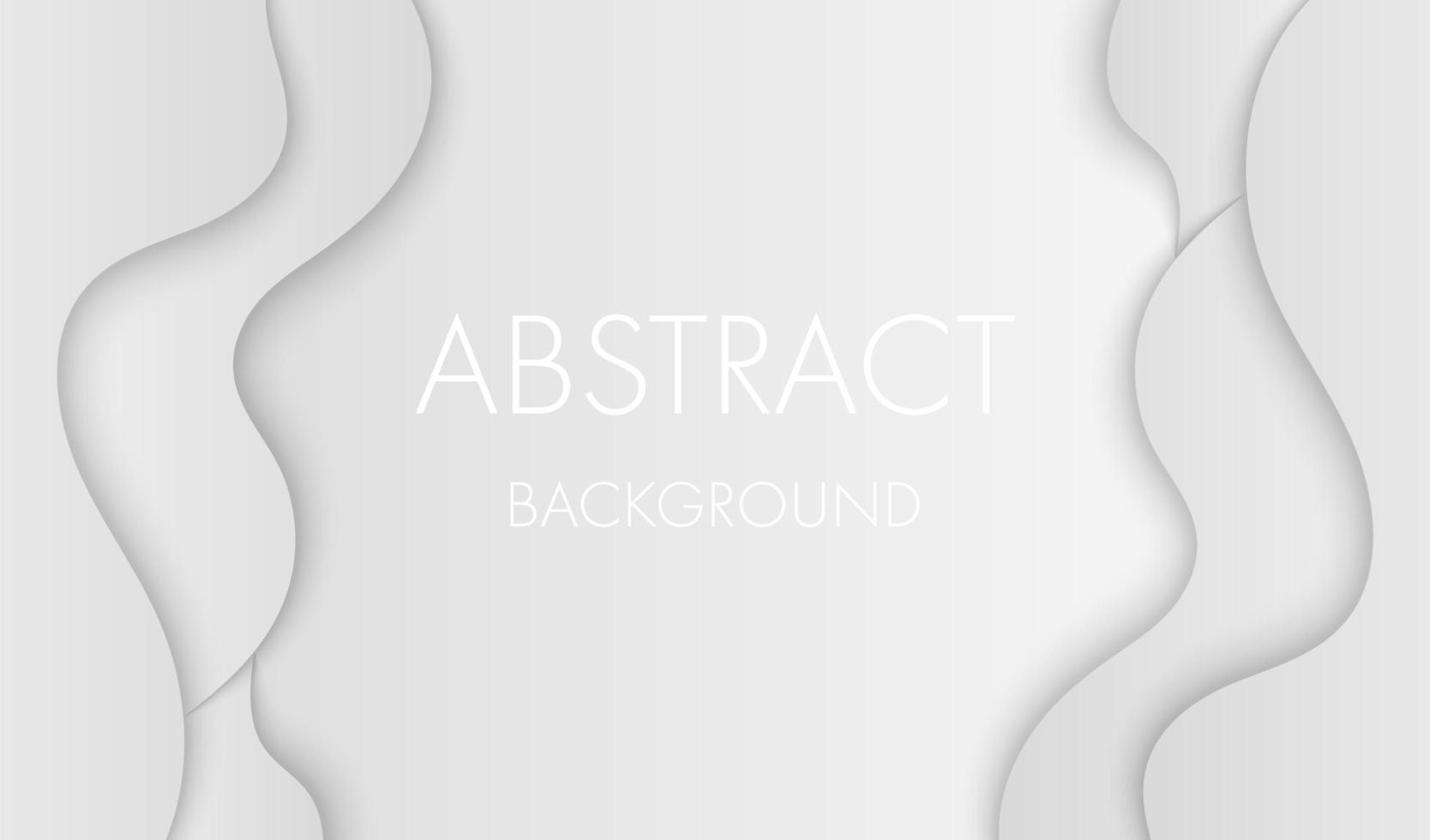 grijs gelaagde vloeiende randen en ruimte voor tekst vector
