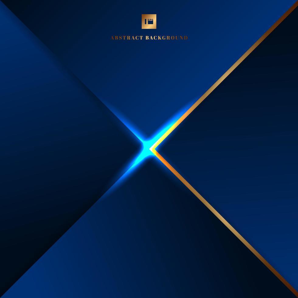 abstrato azul triângulos geométricos vetor