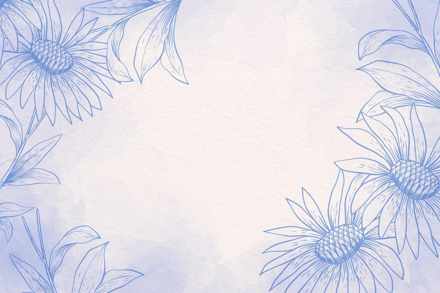 pastel de pó com fundo azul e branco vetor