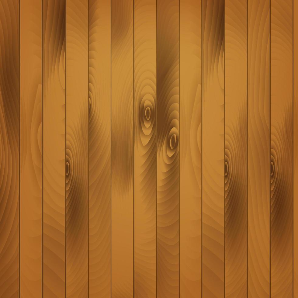 pranchas de madeira marrom vetor