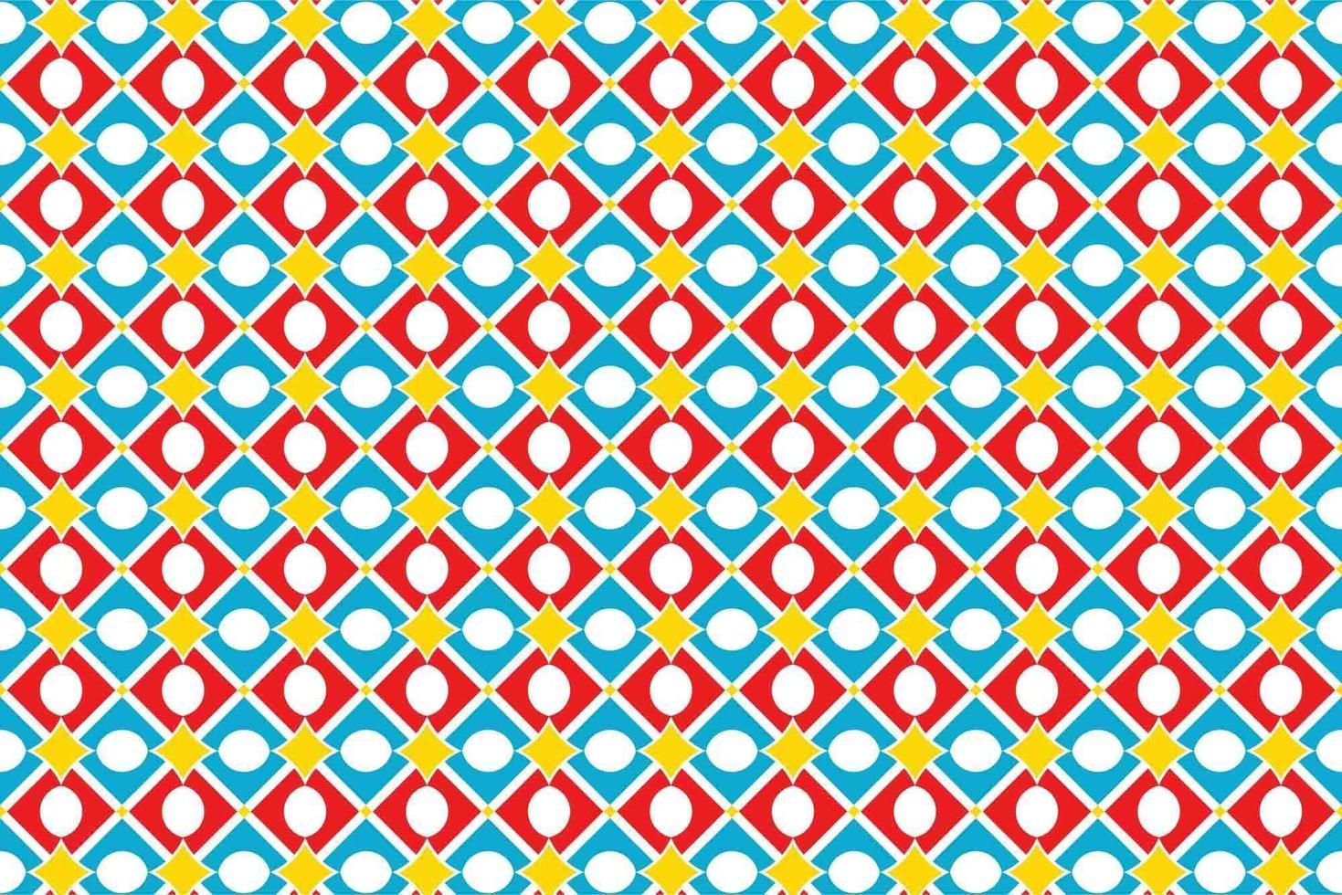 geometrische ruitvorm naadloze patroon vector