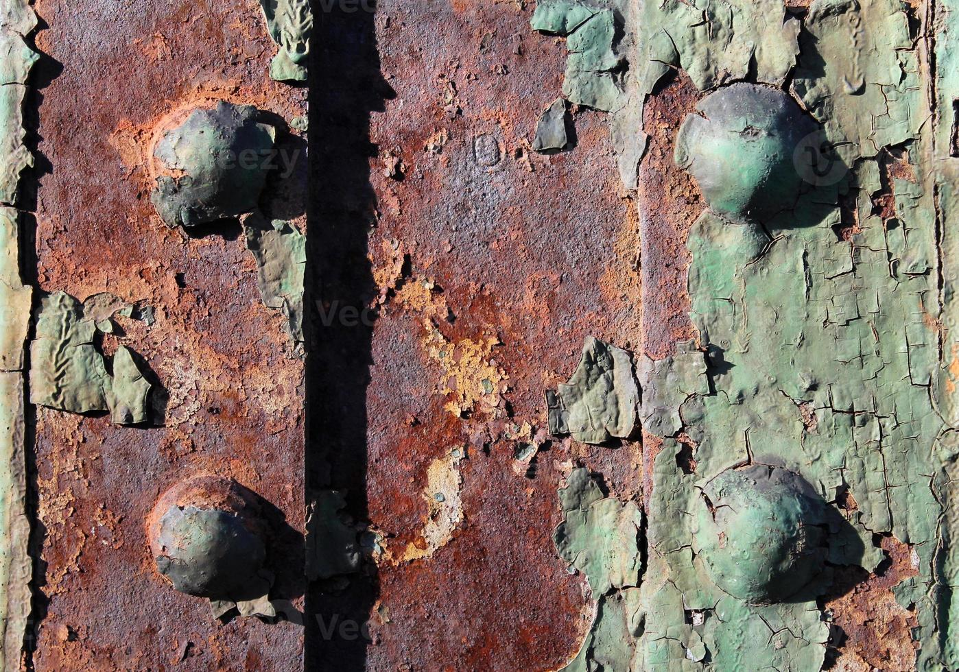 Rusty bolt joints photo