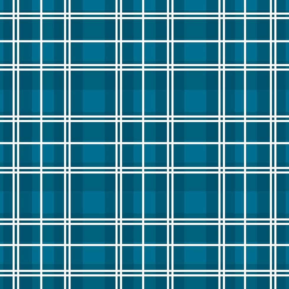 modèle sans couture à carreaux damier bleu, blanc vecteur